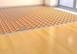 radiant floor heating underfloor
