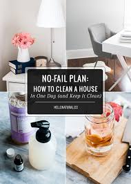 No Fail Plan  How To Spring Clean Your House  and Keep It Clean    Detox