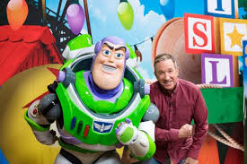 toy story 4. Interesting Toy Tim Allen Poses With Buzz Lightyear For Toy Story Land Throughout 4 O