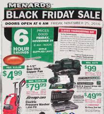Menards 2016 Black Friday Ad
