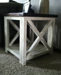 exceptional ana white rustic x coffee table diy projects with regard to rustic coffee and end tables