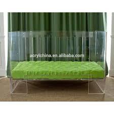 wholesale custom acrylic baby crib modern acrylic baby furniture