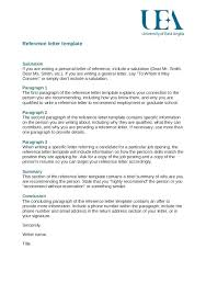 Reference Letter Template For University Elisabethnewton Com