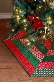 Quilted Christmas Tree Skirt Pattern Magnificent Design Inspiration