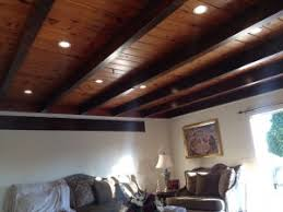 wood ceiling lighting. Recessed Lighting In Wood Ceiling Installed San Diego I