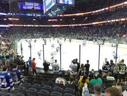 Amalie Arena Tampa Florida Seating Chart Amalie Arena Section 110 Seat Views Seatgeek