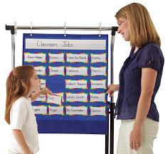 Classroom Helpers Pocket Chart Carson Dellosa Classroom Helpers Pocket Chart