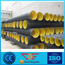 china 2017 new hot products black corrugated drain pipe 3 pe pipe china pe pipe hdpe pipe