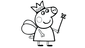 Peppa Pig Coloring Pages To Print Printable Pig Coloring Pages Peppa