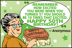 Funny 50th Birthday Quotes For Dad