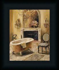 french bath i marilyn hageman bathroom spa framed art