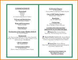 Graduation Program Template Pdf 002 Graduation Program Template Science Resume Pertaining To