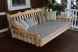 Adorable Outdoor Porch Swing Bed Along With Pallet Outdoor Bed Swing in Porch  Swing Bed