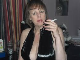 Smoking fetish and mistress