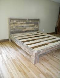 wooden pallet furniture plans. Diy Pallet King Size Bed Furniture Plans Frame Instructions Wooden