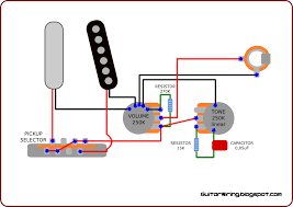 telecaster 4 way wiring diagram wirdig