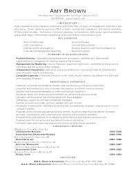 Objective Accounting Resumes Sample Of Accounting Resume Vitadance Me