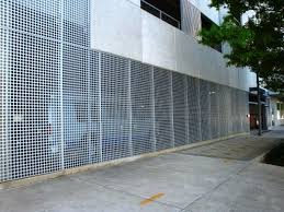 architectural perforated metal panels. perforated 2 inch round 005 architectural perforated metal panels