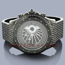 aqua master iced out watches mens diamond watch 3 50ct diamond this techno master iced out mens diamond watch features 0 12 carats of genuine diamonds on the