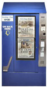 Newspaper Vending Machines Simple The Newspaper Vending Product