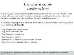 Experience Letter Format Salesman Best Of Best Mobile Sales Pro
