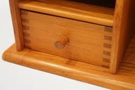 scandinavian modern danish modern solid teak desk organizer by kai kristiansen for