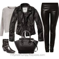 have you seen people wearing three or more leather items at once too many leather pieces at once can come off as very harsh for most of us