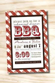 Barbeque Invitation Barbeque Party Invitations
