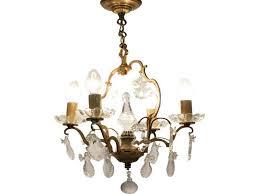 french vintage crystal chandelier for vintage crystal chandeliers