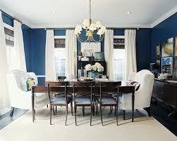 color benjamin moore chion cobalt ashley putman gorgeous blue brown dining room design with bold