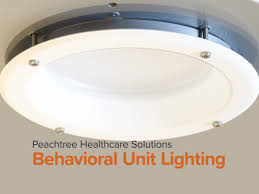 Peachtree Lighting Downlights For Behavioral Health Units Peachtree Lighting