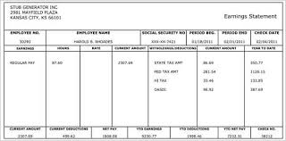 Pay Stub Templates Excel 62 Free Pay Stub Templates Downloads Word Excel Pdf Doc