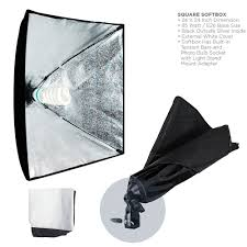 com limostudio 700w photography softbox light lighting kit photo equipment soft studio light softbox 24 x24 agg814 photographic lighting soft