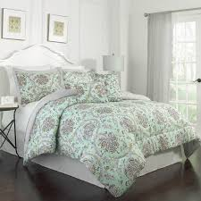 skull and roses comforter set tags contemporary bedding red