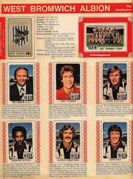 FRITZ THE FLOOD: English Leagues the 70s: Manchester United West Bromwich  Albion Division One 1978 1979
