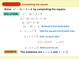 completing the square solve by completing the square