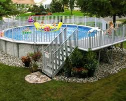 Great Above Ground Pool Landscaping Ideas MANITOBA Design Good