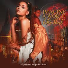 Ariana Designs Edit Of Ariana Grande Ariana Grande Thinking Of You