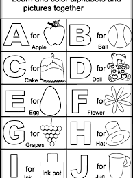 Coloring Sheets Educational Coloring Pages For Preschoolers Free