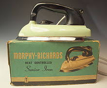 Image result for 1950s swan electric iron