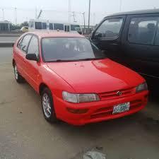 Registered Toyota Corolla - 1996 @ N480,000.00 - Autos - Nigeria
