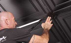 How To Install Decorative Ceiling Tiles ProLITE Decorative Ceiling Strips Ceiling Installation 47
