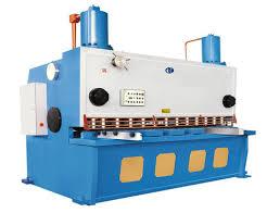 sheet metal cutting machine. hydraulic sheet metal cutting machine e