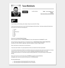 Resume Samples Pdf Stunning Android Developer Resume Template 40 For Senior Junior Developers