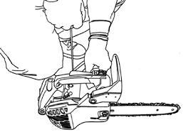 Výsledek obrázku pro ochranné pomůcky při řezání s motorovkou