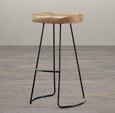 oak tractor seat stool throughout restoration hardware bar stools plans 11 restoration hardware bar stools l43