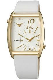 Женские кварцевые наручные <b>часы Orient UBUF003W</b> с двойным ...