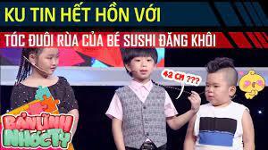 Ku Tin hết hồn với 'tóc đuôi rùa 42cm' của SuShi Đăng Khôi - Bản Lĩnh Nhóc  Tỳ #37 - YouTube