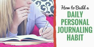 Personal Journaling How To Start Journaling By Starting A Journaling Habit