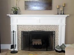 white painted fireplace mantel white fireplace mantel ideas